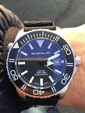 Diver Subacqueo Quondam 300 Metri Automatico Swiss Eta 2824/2 vetro Zaffiro-New