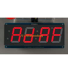 New Red 1.2' 4 Digit 7 Seven Segment LED Display IIC for Arduino
