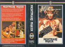 NIGHTMARE MAKER aka NIGHT WARNING / PRE CERT DPP NASTY / ATLANTIS / VHS