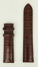 Tissot Visodate T610 014 569 Strap T019430 Brown Genuine Leather T610014569