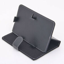 "7 Inch 7""PDA Black Tablet PC Universal PU Leather Protecting Case Cover Stand"