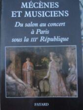 Mécènes et musiciens : Du salon au concert à Paris sous la IIIe répubique