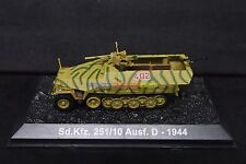 New 1/72 Diecast Tank German Sd. Kfz. 251/10 Ausf. D Military Model Toy Soldiers
