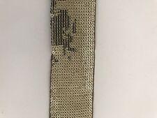 Oro antiguo indio atractivo encaje ajuste Cinta De Lentejuelas 4 cm de ancho-se vende por metro