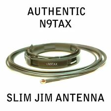 Authentic N9TAX VHF Slim Jim J-Pole For HT 2 Meter Antenna 16' Coax !!!