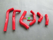 FOR HONDA CRF450R CRF 450 R 2002 2003 2004 silicone radiator hose red