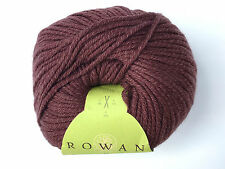 ROWAN 'Belle' Organic Cotton DK Hand Knitting Wool - 50gm - Chocolate #011