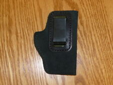 BLACK-IWB Leather Concealment Holster Colt Mustang Jimminez 380 Phoenix Jennings