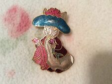 Vintage Beatrix Potter Peter Rabbit Cloisonne Pin