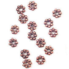 6MM COPPER COLOR SMALL SPACER BEADS AA-117 #15 - PK/25