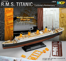 ACADEMY 1/700 R.M.S.TITANIC Multi Colored Parts MODEL KIT #14214