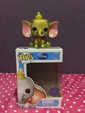 Custom! Funko Pop Disney Dumbo Oro Metálico #50 Sdcc 2013 le 48