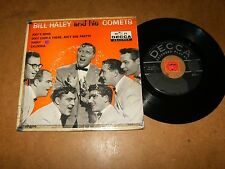 BILL HALEY AND HIS COMETS  - EP USA DECCA 2670  / LISTEN - MOD ROCK POPCORN