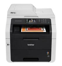 Brother MFC-9340CDW All in One Colour Laser Wireless Multifunction Printer Fax