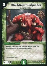 Duel Masters-Karte - Mächtiger Verkünder