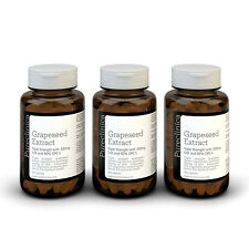 3x Grape Seed Extract - 300mg x 540 tablets - 90% Oligomeric Proanthocyanidins