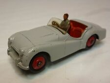 DINKY TOYS 105 TRIUMPH TR2 - GREY 1:43 - VERY GOOD CONDITION