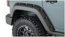 Bushwacker Pocket Rear Fender Flare Set 07-17 Jeep JK Unlimited 4-Door, 10080-02