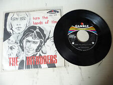 "THE INTRUDERS""TURN THE HANDS OF TIME-disco 45 giri GAMBLE Italy1969"" VERY RARE"