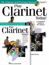 PLAY CLARINET TODAY - BEGINNER INSTRUCTION LESSON DVD + BOOK