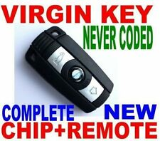 NEW VIRGIN COMFORT ACCESS SMART KEY FOR BMW CAS CAS3+ COMPLETE NEW CHIP REMOTE