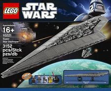 INCOMPLETE LEGO Star Wars Super Star Destroyer (10221)