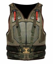 Men's Celebrity Looks The Dark Knight Rises Men's Synthetic Leather Bane Vest.