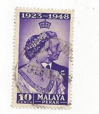 MALAYA - PERAK -99, 106, 108-109, 111-112, 114 - USED - 1948 - 1950 -
