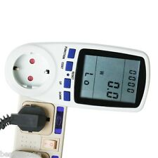 New Euro Plug in Energy Watt Meter Electricity Monitor Power Analyzer