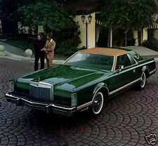 1977 Lincoln Continental MARK V, Givenchey Edition, Refrigerator Magnet, 40 Mil