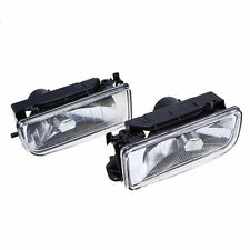 Pair Crystal Fog Lights Driving Lamp Housing Case for BMW 3-Series E36 1992-1998