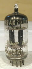 1X Used Amperex 12AX7 Vacuum Tube-Strong Gm Tests-Matched Plates