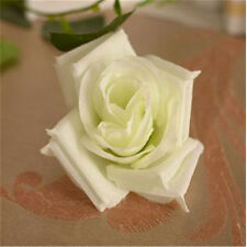 10 pcs/lot Artificial Silk Flower Christmas Rose Heads Wedding Home Decoration