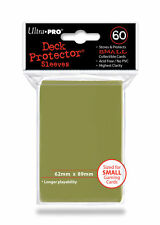 300 LOT ULTRA PRO GOLD METALLIC DECK PROTECTOR SLEEVES NEW 5 PACKS OF 60! CCG