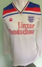 ENGLAND HOME FOOTBALL SHIRT VINTAGE 1980-1983 ADMIRAL PLAYER ISSUE NO 8 SEE DESC