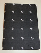 RUGBY RALPH LAUREN BLACK SKULL AND BONES NOTE BOOK 114 PAGES