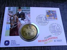 *BRD Numisbrief mit Gedenk Medaille *Deutsche Sporthilfe