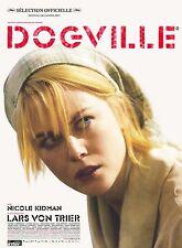Affiche 120x160cm DOGVILLE 2003 Lars Von Trier, Nicole Kidman, Skarsgård NEUVE #