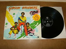GIBSON BROTHERS : CUBA - FRENCH LP 1979 - ZAGORA 9198 273