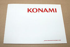 Konami EU Promo Booklet Silent Hill 3 Metal Gear Solid Merchandise Postcards