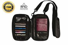 Travel Document Organizer by CargOnizePro and Family Neck RFID Passport Wallet