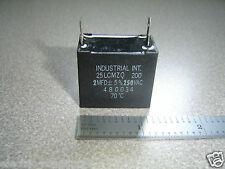 Industrial International Midwec 25LCMZQ 200 2MFD 250vac 2uf Capacitor 480034 70C