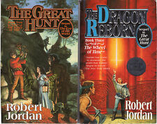 Complete Set Series - Lot of 15 Wheel of Time Fantasy Books by Robert Jordan