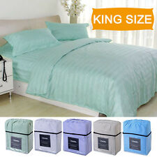 4 Piece Bed Sheet Set Deep Pocket 5 Color Available King Size New