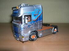 WSI Scania Streamline Topline 4x2 Konzack V8 Zugmaschine LKW Truck 1:50  01-1799