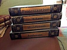 THE WORLD'S GREAT RELIGIONS, Easton Press (Islam, Judaism, Hinduism, Protestant)
