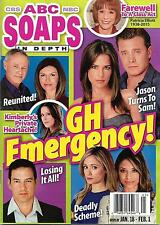 Kelly Monaco, Billy Miller, Ryan Paevey - February 1, 2016 ABC Soaps In Depth