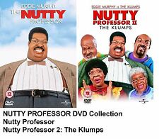 NUTTY PROFESSOR PART 1 + 2 DVD Eddie Murphy Brand New and Sealed UK Release