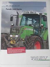 FENDT 300 VARIO Traktoren Prospekt 02/12 ( FENDT 24)