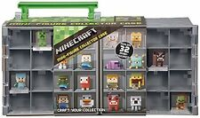 Minecraft Mini Figure Collector Case Toy Game Kids Play Gift Video Consoles Gam